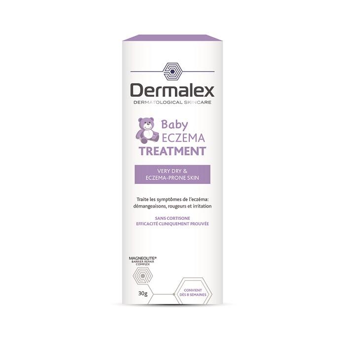 Image of Dermalex Baby Atopisch Eczeem Behandeling Crème 30g