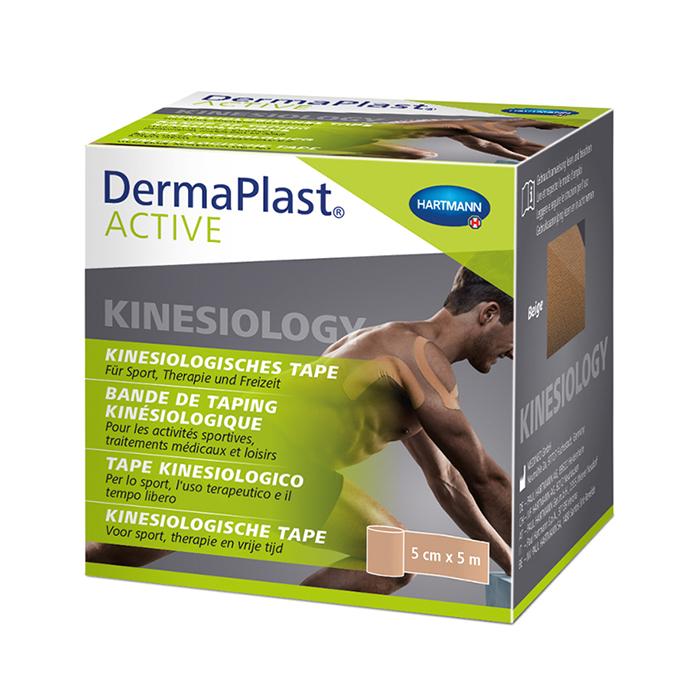 Image of Dermaplast Active Kinesio Tape Beige 5cmx5m 1 Rol