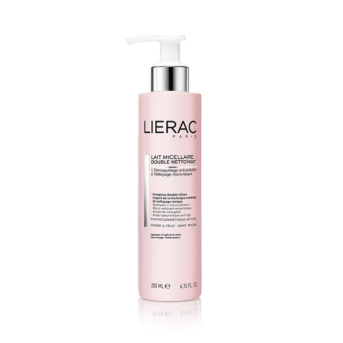 Image of Lierac Dubbele Reiniging Micellaire Melk 200ml