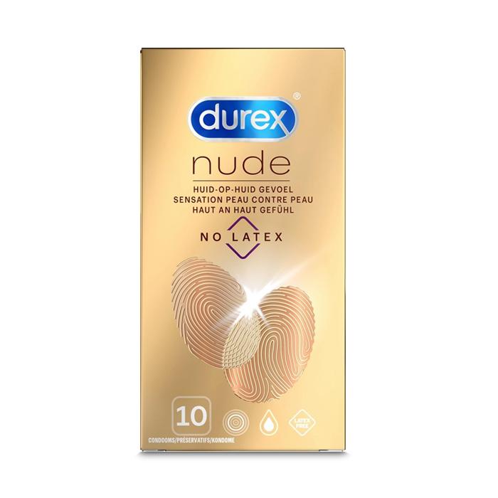Image of Durex Nude No Latex Condooms 10 Stuks