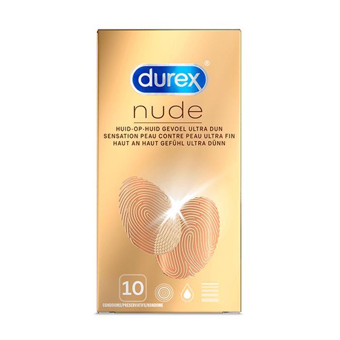 Image of Durex Nude Classic Condooms 10 Stuks