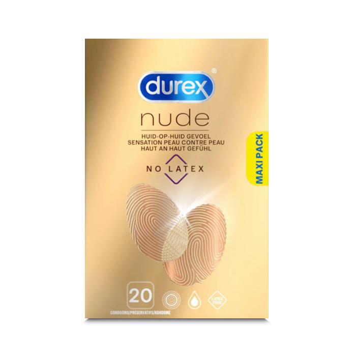 Image of Durex Nude No Latex Condooms 20 Stuks