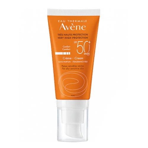 Image of Avène Zon Crème SPF50+ Zonder Parfum 50ml