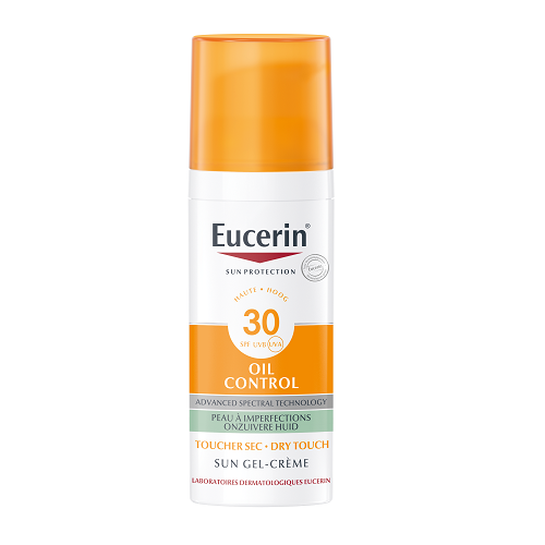 Image of Eucerin Zon Oil Control Gel-Crème Dry Touch SPF30 50ml