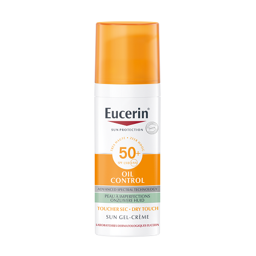 Image of Eucerin Zon Oil Control Gel-Creme Dry Touch SPF50+ 50ml
