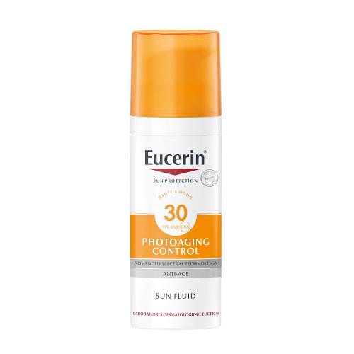 Image of Eucerin Zon Photoaging Control Fluide Anti-Age SPF30 50ml