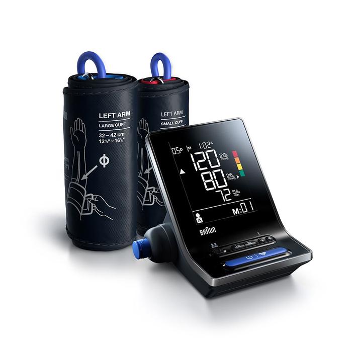 Image of Braun Exactfit 5 Connect Bloeddrukmeter Bovenarm 1 Stuk
