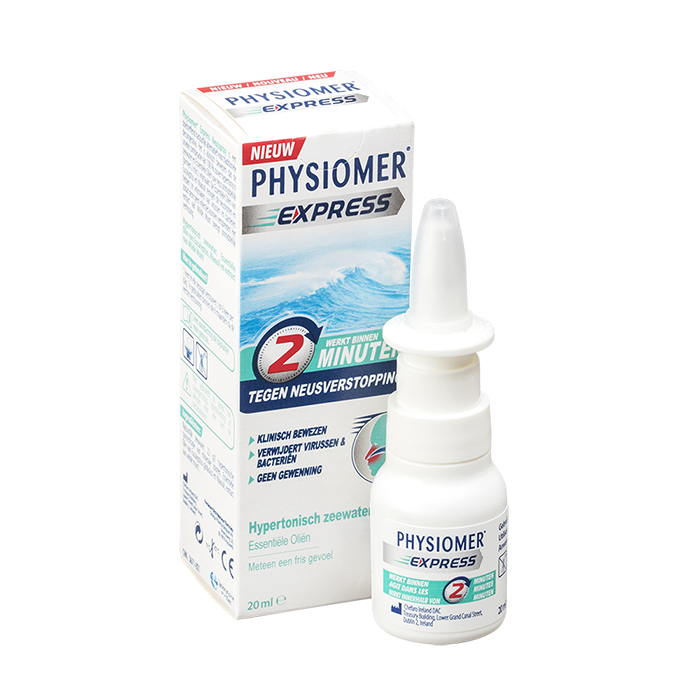 Image of Physiomer Express Pocket Neusspray Verstopte Neus 20ml