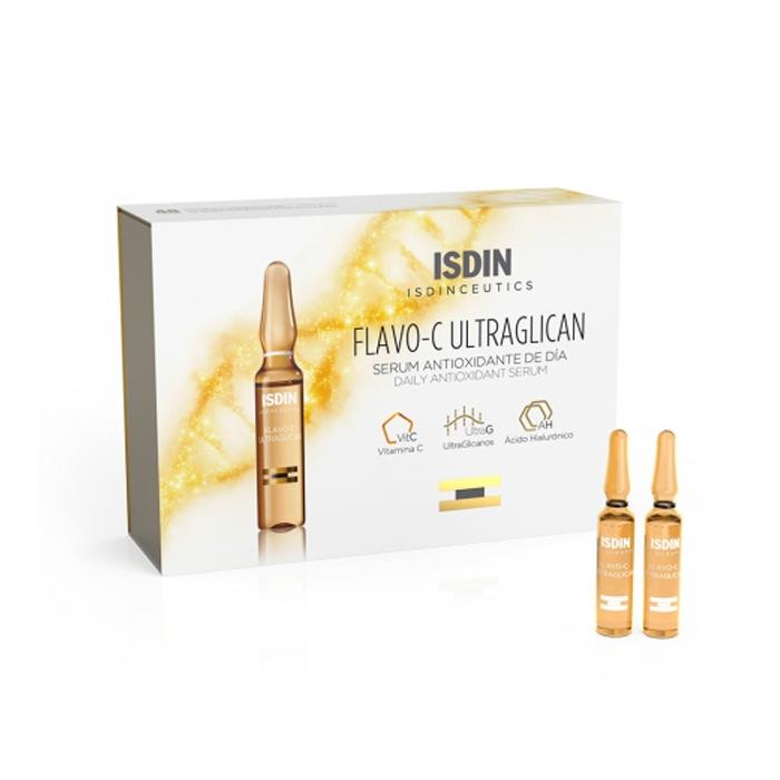 Image of Isdin Isdinceutics Flavo-C Ultraglican 10x2ml Ampullen