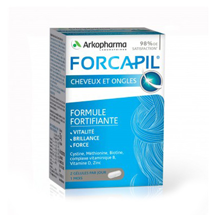 Image of Forcapil Haar & Nagels 60 Capsules
