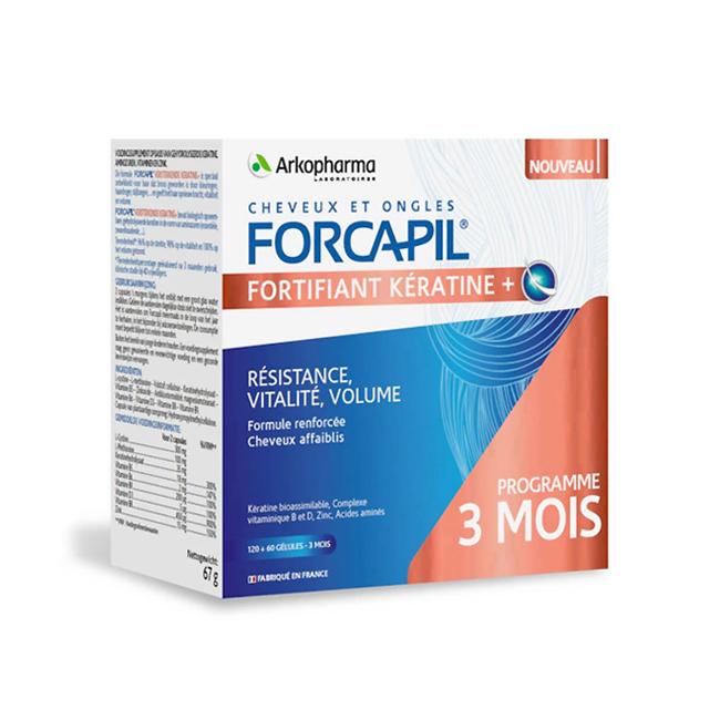 Image of Forcapil Versterkende Keratine+ 180 Capsules