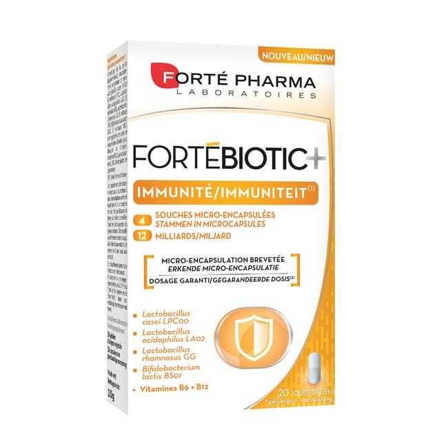 Image of Forté Pharma FortéBiotic+ Immuniteit 20 V-Capsules
