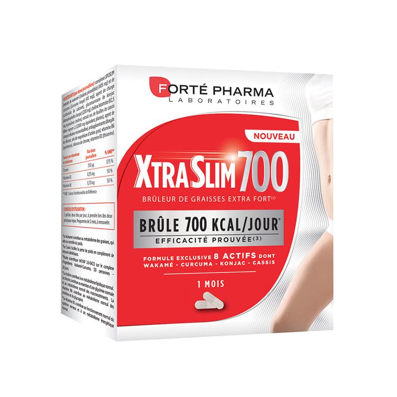 Image of Forté Pharma XtraSlim 700 Vetverbrander 120 Capsules