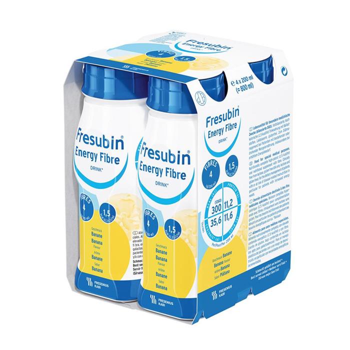 Image of Fresubin Energy Fibre Drink Banaan 4x200ml