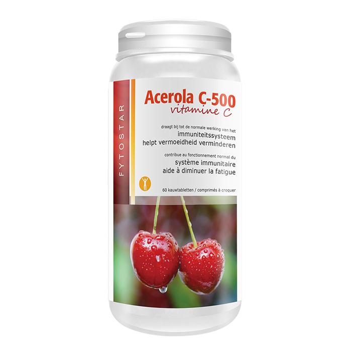 Image of Fytostar Acerola C-500 Vitamine C 60 Tabletten