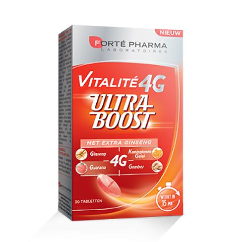 Image of Forté Pharma Vitalite 4G Ultra Boost Ginseng 30 Tabletten