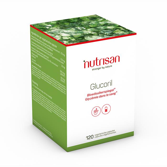 Image of Nutrisan Glucoril 120 Capules