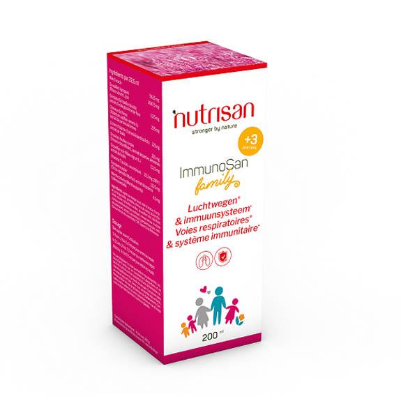 Image of Nutrisan ImmunoSan Family Siroop 200ml