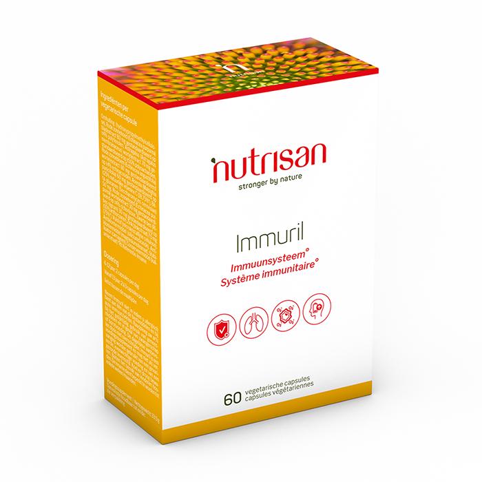 Image of Nutrisan Immuril 60 Capsules