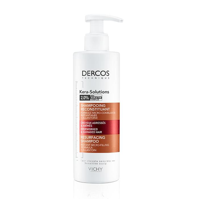 Image of Vichy Dercos Kera-Solutions Intensief Herstellende Shampoo 250ml