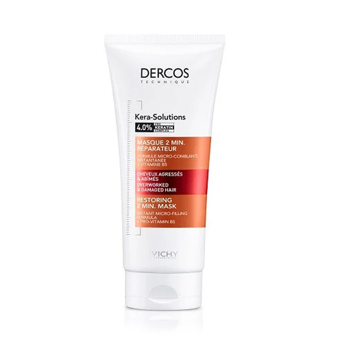 Image of Vichy Dercos Kera-Solutions Herstellend 2 Min. Masker 200ml