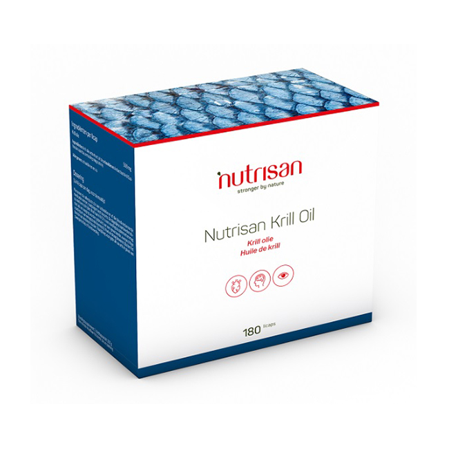 Image of Nutrisan Krill Oil 180 Licaps