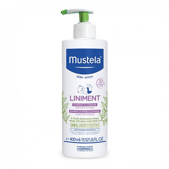 Image of Mustela Liniment Baby Pompfles 400ml