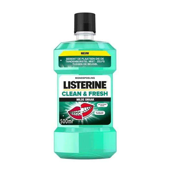 Image of Listerine Clean & Fresh Mondspoeling 500ml