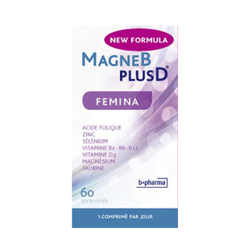 Image of Magne B Plus D Femina 60 Tabletten NF