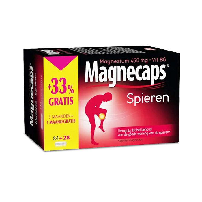 Image of Magnecaps Spieren Promopack 84 + 28 Tabletten GRATIS