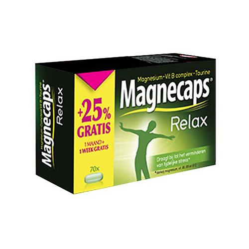 Image of Magnecaps Relax 70 Tabletten Promo +1 Week Gratis