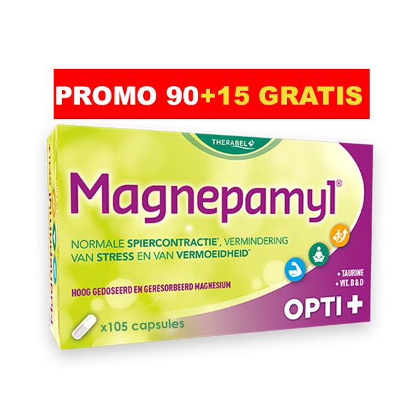Image of Magnepamyl Opti+ 90 + 15 Capsules Gratis (PROMO PACK)
