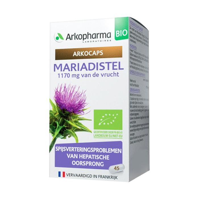 Image of Arkocaps Mariadistel Bio 45 Capsules NF