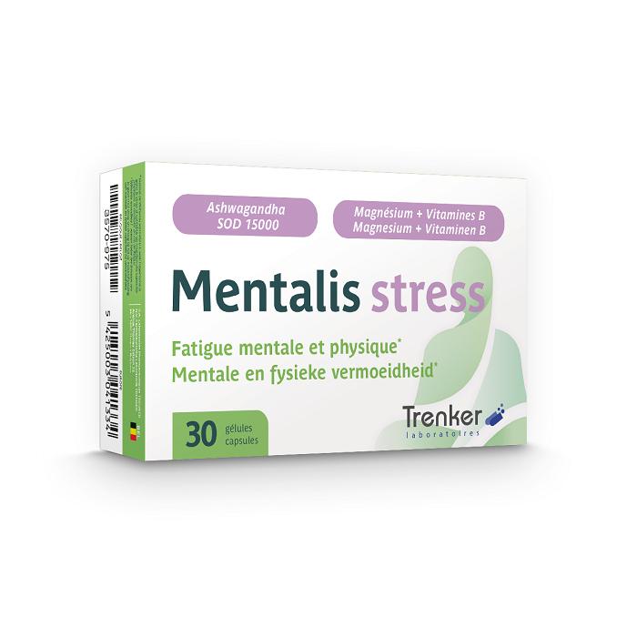 Image of Mentalis Stress 30 Capsules