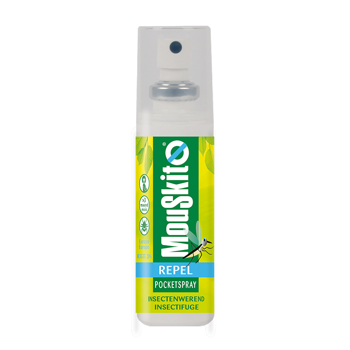 Image of Mouskito Repel Insectenwerende Pocket Spray IR3535 20% 50ml