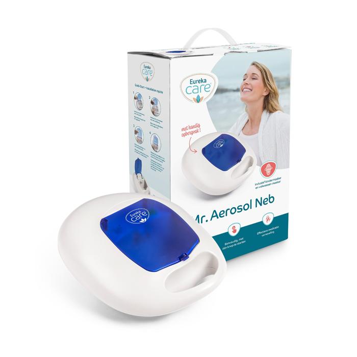 Image of Eureka Pharma Mr. Aerosol Neb Blauw 1 Set