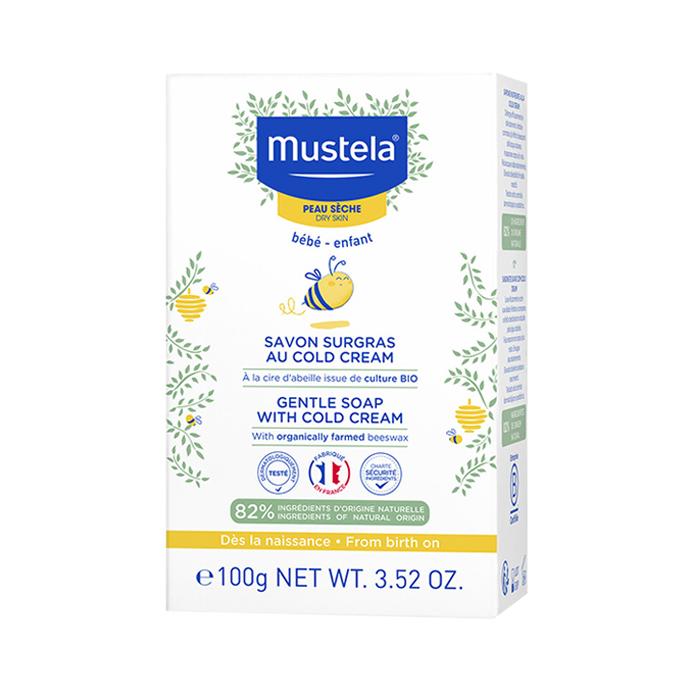 Image of Mustela Overvette Zeep Cold Cream 100g