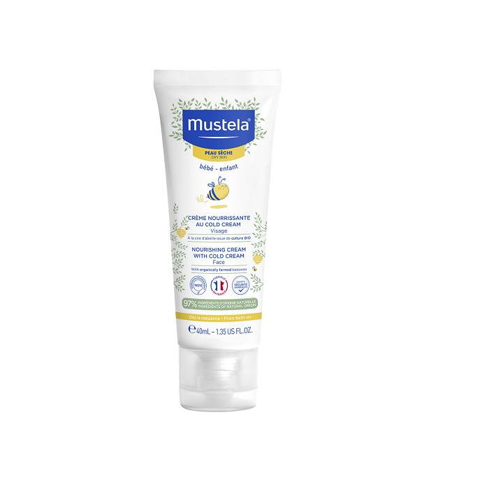 Image of Mustela Voedende Cold Cream Gelaat Droge Huid 40ml
