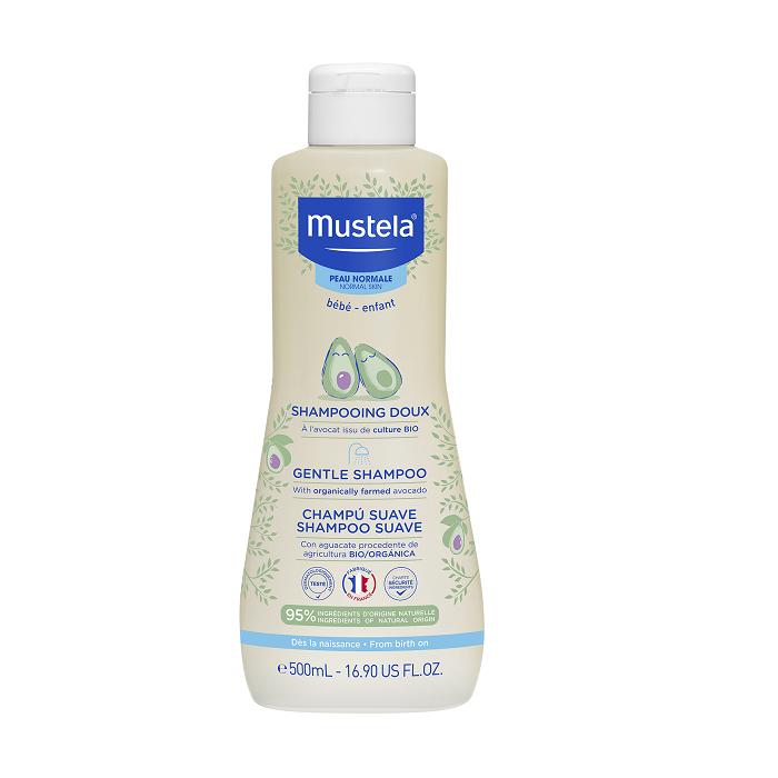 Image of Mustela Zachte Shampoo Normale Huid 500ml