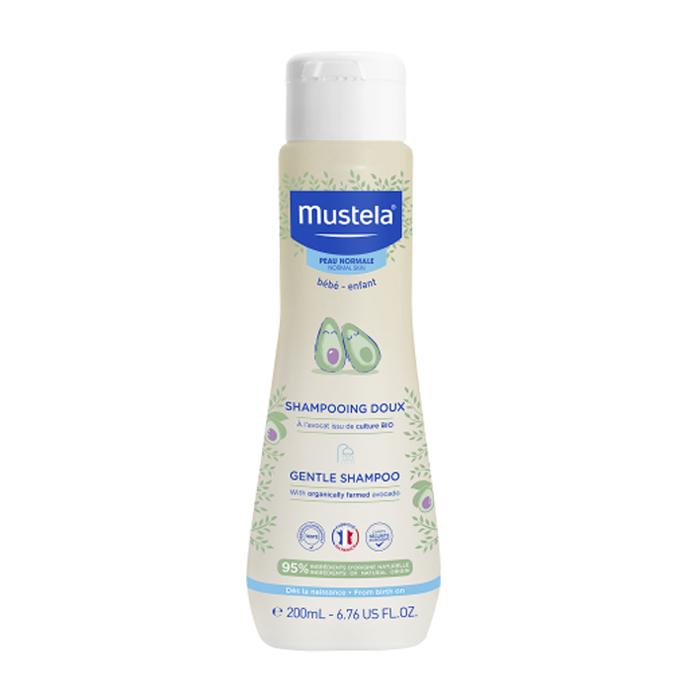 Image of Mustela Bébé Zachte Shampoo - Normale Huid 200ml