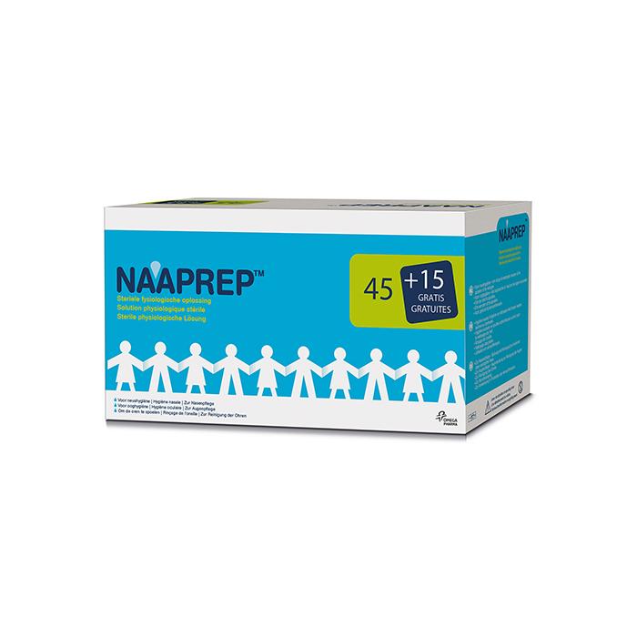 Image of Naaprep Fysiologisch Water 5ml Promo 45+15 Ampoules GRATIS