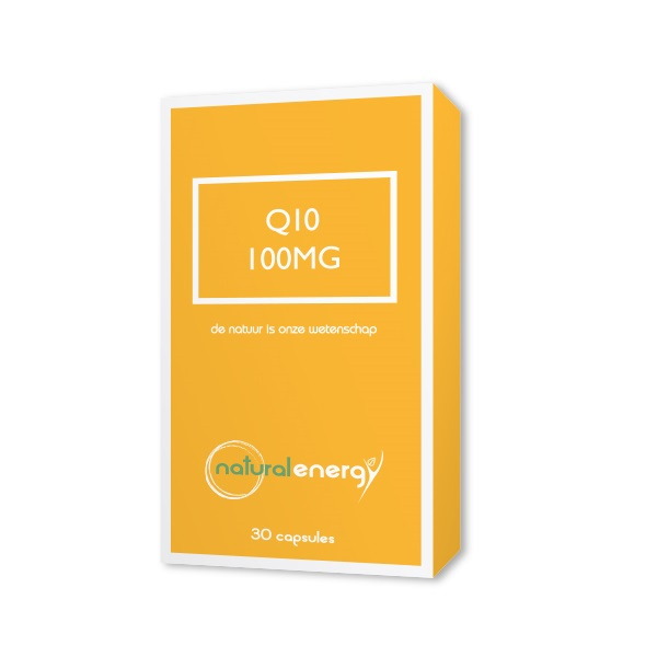 Image of Natural Energy Q10 Energy 100mg 30 Capsules