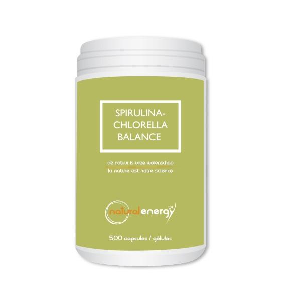 Image of Natural Energy Spirulina-Chlorella Balance 500 Capsules