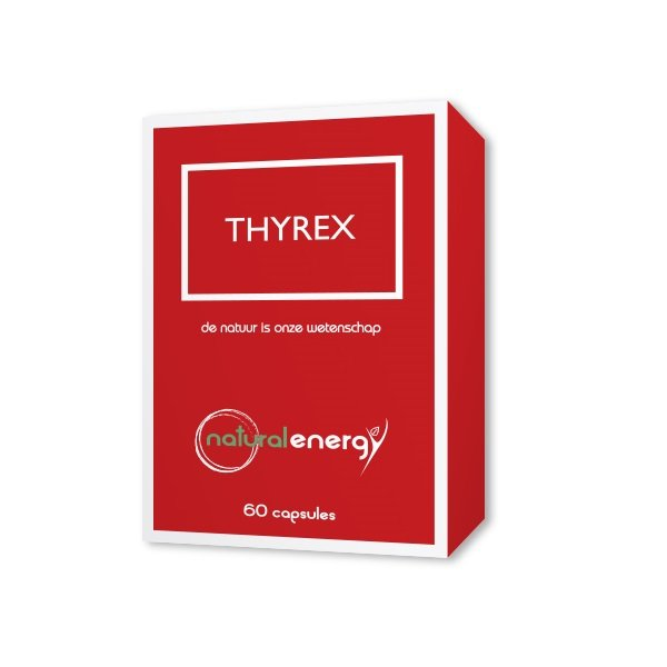 Image of Natural Energy Thyrex 60 Capsules