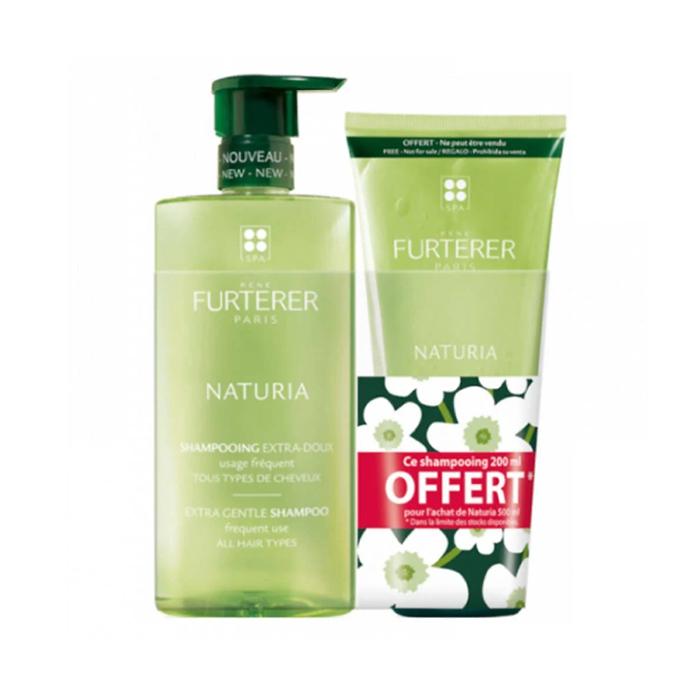 Image of René Furterer Naturia Ultramilde Shampoo 500ml + GRATIS 200ml