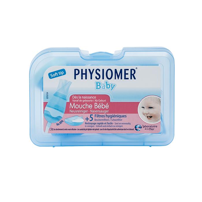 Image of Physiomer Baby Neusreiniger 1 Stuk + 5 Beschermfilters