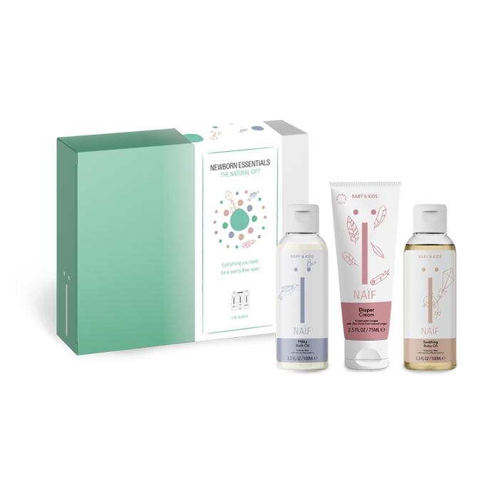 Image of Naïf Baby Starter Kit Newborn Essentials 3 Producten
