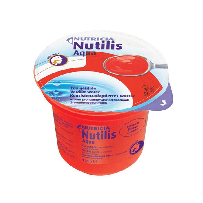 Image of Nutilis Aqua Verdikt Water Grenadine Cups 12 Stuks