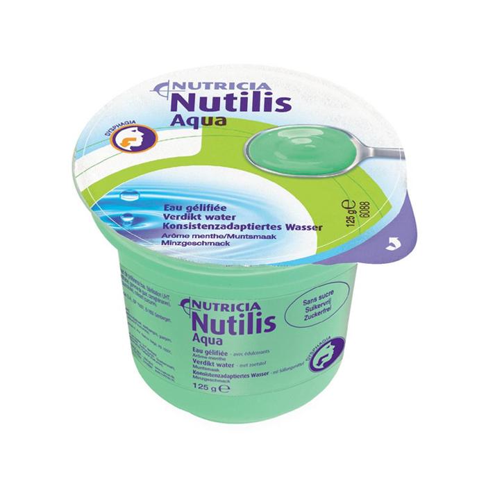 Image of Nutilis Aqua Verdikt Water Munt Cups 12 Stuks
