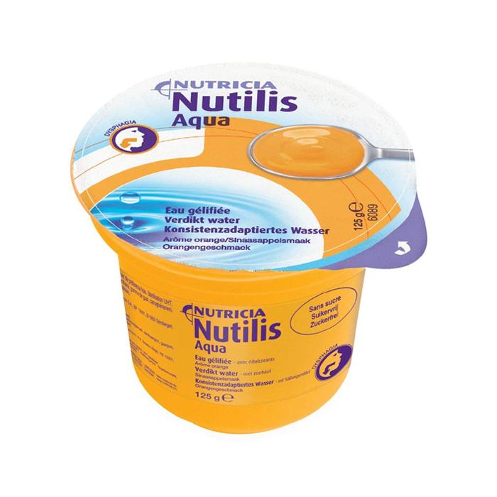 Image of Nutilis Aqua Verdikt Water Sinaas Cups 12 Stuks